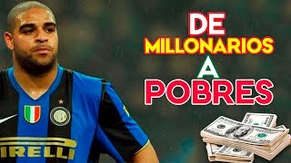 TOP 10 FUTBOLISTAS QUE PASARON DE MILLONARIOS A POBRES !!! OMG !!