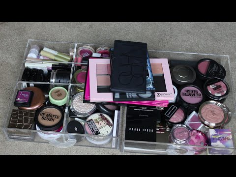 Makeup Declutter Series: Blushes, Bronzers & Highlighters!!