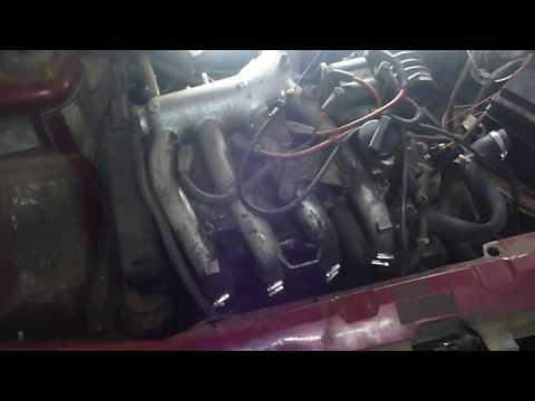 Снятие радиатора охлаждения ВАЗ 2110