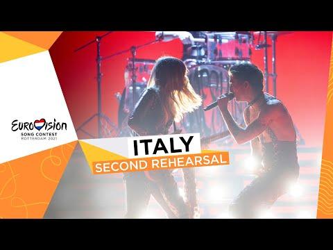 Måneskin - Zitti E Buoni - Second Rehearsal - Italy ?? - Eurovision 2021