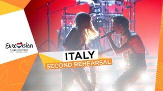 Måneskin - Zitti E Buoni - Second Rehearsal - Italy 🇮🇹 - Eurovision 2021