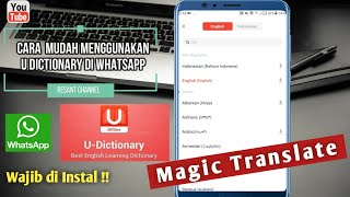 U Dictionary Whatapp Tricks  Magic Translate