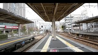 【どこ行く??6050F】阪急6000系6050F  普通神戸三宮行き  西宮北口発車