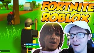 TEAMING WITH SynthesizeOG in SOLOS..? / Roblox Fortnite (Island Royale)