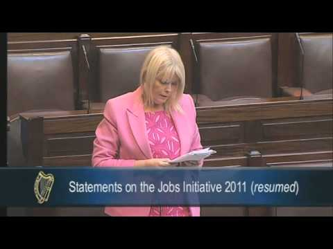 2011-05-11 - Mary Mitchell O'Connor TD/Jobs Initiative