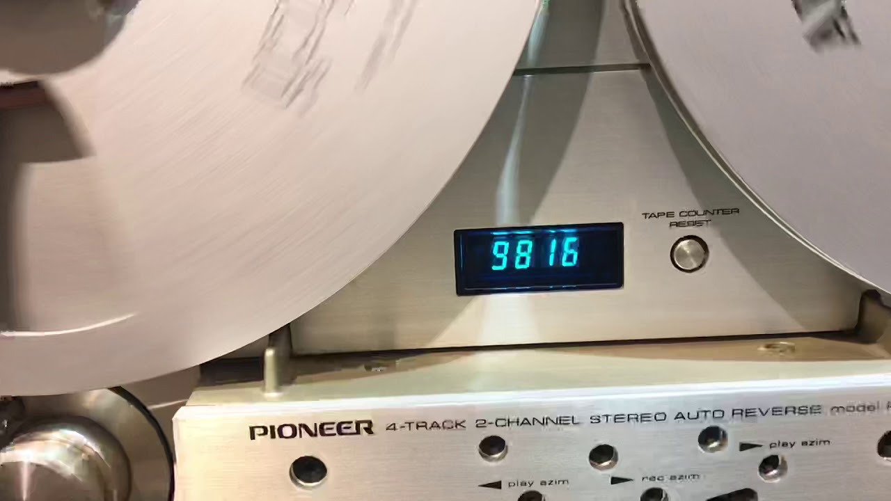 Đầu băng cối PIONEER RT-909