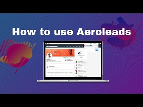 How to use aeroleads to find emails for your campaign?