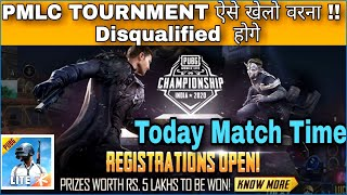 PMLC TOURNMENT Important Point That Make You Qualified In Tournment Pubg Mobile Lite !! PMLC Time