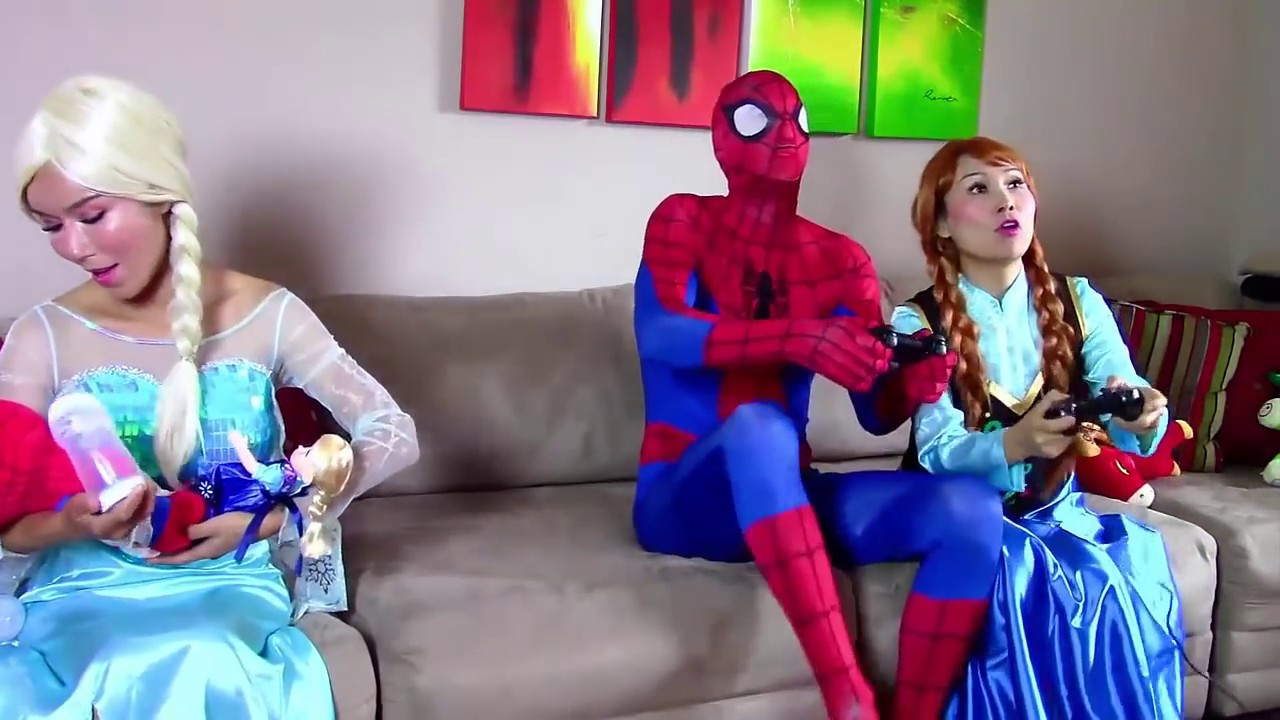 Frozen Elsa is Kidnapped By Joker \u0026 Evil Queen , Who Will Be SuperHero To  Save Her? , YouTube