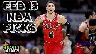 2/13/19 NBA DraftKings & Yahoo Picks