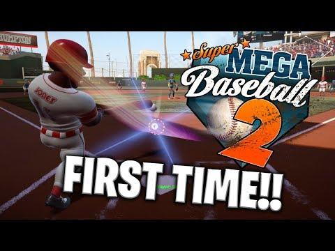 My FIRST TIME Playing Super Mega Baseball 2