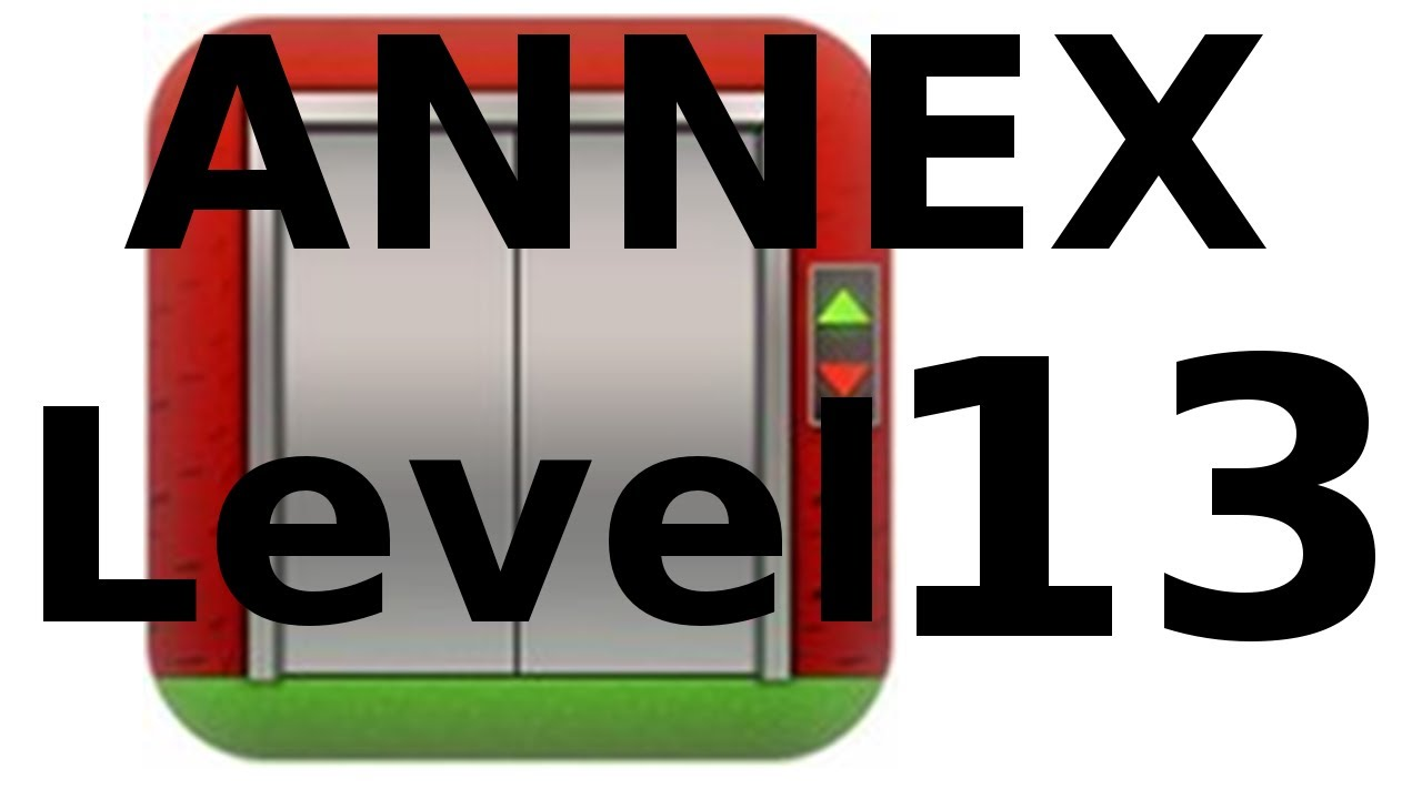 100 Floors Annex Level 13 Walkthrough Youtube