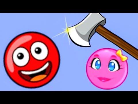 КРАСНЫЙ ШАР 6. Часть 1. Мультик ИГРА для детей New Red Ball. Красный шарик на Игрули TV