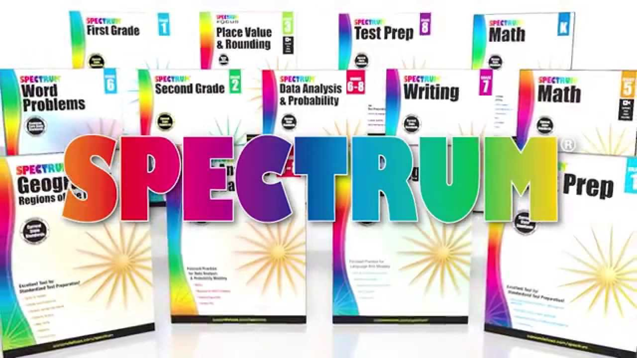 Spectrum Complete Practice and Prep Kit from Carson-Dellosa - YouTube