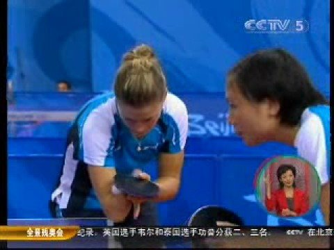 Unbeatable Natalia Partyka sweep aside 3 best Chinese table tennis players to win the gold medal