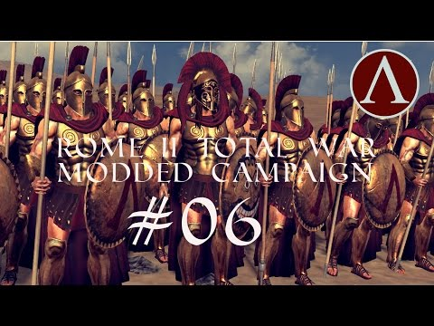 Let's Play Rome 2 Total War as Sparta MODDED Campaign #06: Transports beat Battleships?