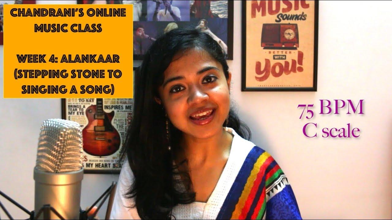 Week 4: Alankaar (Jewels of singing) | Chandrani's Online Music Class