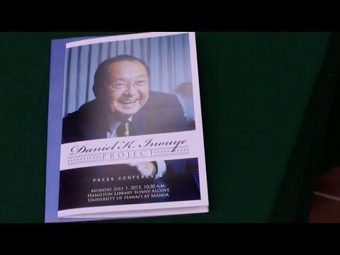 UH Manoa preserves Senator Inouye's legacy