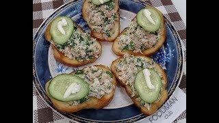 Бутерброды с печенью трески: рецепт от Foodman.club