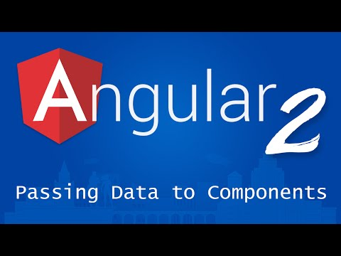 Angular 2 for Beginners - Tutorial 8 - Passing Data to Components