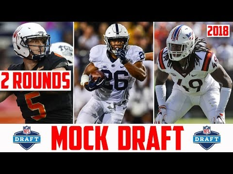 2018 NFL Mock Draft - 2 Round NFL Mock Draft 2018 (POST SUPER BOWL MOCK DRAFT)
