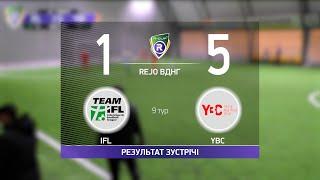 Обзор матча IFL 1 5 YBC Турнир по мини футболу в Киеве