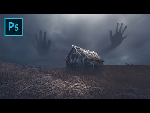 Make A Scary Big Hand Manipulation Photo In Photoshop