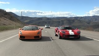 I drive the Ford GT!