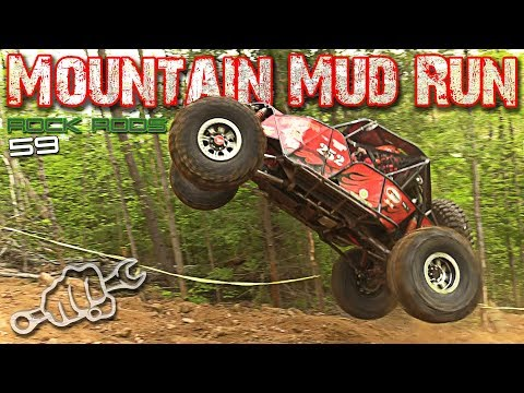 ROCK BOUNCERS INVADE Mountain Mud Run - Rock Rods EP 59