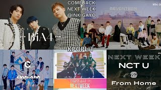 101820 COMEBACK NEXT WEEK (CRAVITY, LOONA, B1A4, NCT_U, SEVE…