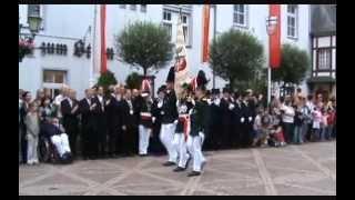 Ahrweiler Schützenfest 2008 - Parade der Junggesellen