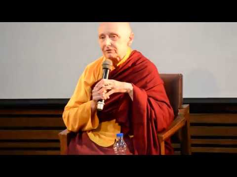CREATIVITY BEYOND EGO:  SPEAKER: VENERABLE JETSUNMA TENZIN PALMO