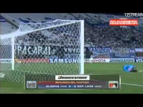 Olimpia 2-2 CD Lara #Copa Libertadores 2013 (05/03/2013