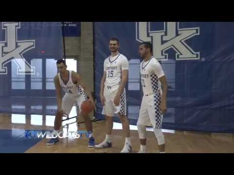 Behind the scenes- UK Men's Basketball Picture Day