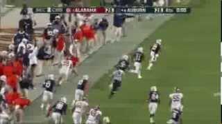 Американский футбол Крис Девис пробежал более 100 ярдов и сделал тачдаун Смотреть всем!