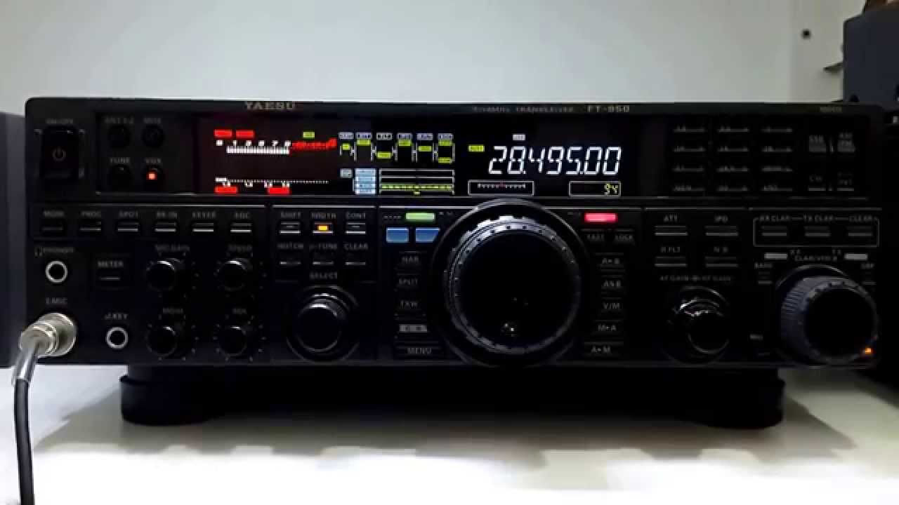 Teste Yaesu Ft 950 Amp Mic Md 100 Youtube