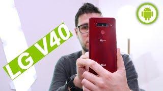 LG V40 è arrivato: 5 FOTOCAMERE, ric. wireless e IP68