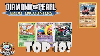 Pokémon TCG History: Great Encounters (Diamond and Pearl!)