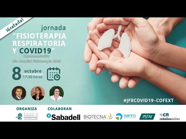 Jornada Fisioterapia Respiratoria y COVID19