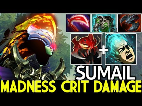 SumaiL [Phantom Assassin] He Is Real Madness With MOM Build Insane Crit Damage 7.22 Dota 2