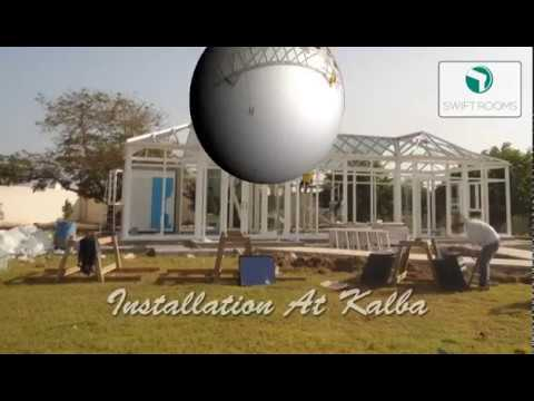 Swift Rooms Conservatory Installation Timelapse | Al-Futtaim ACE