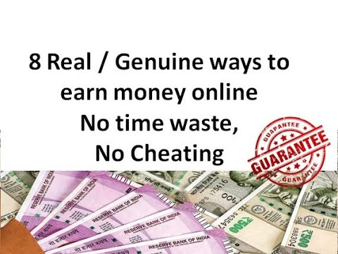 Real Ways To Earn