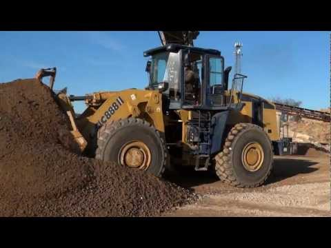 Liugong CLG 888 Wheel Loader In Action (HD)