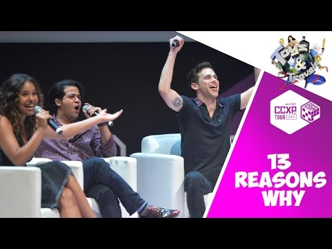 13 Reasons Why NETFLIX Press Conference in Comic Con Brazil