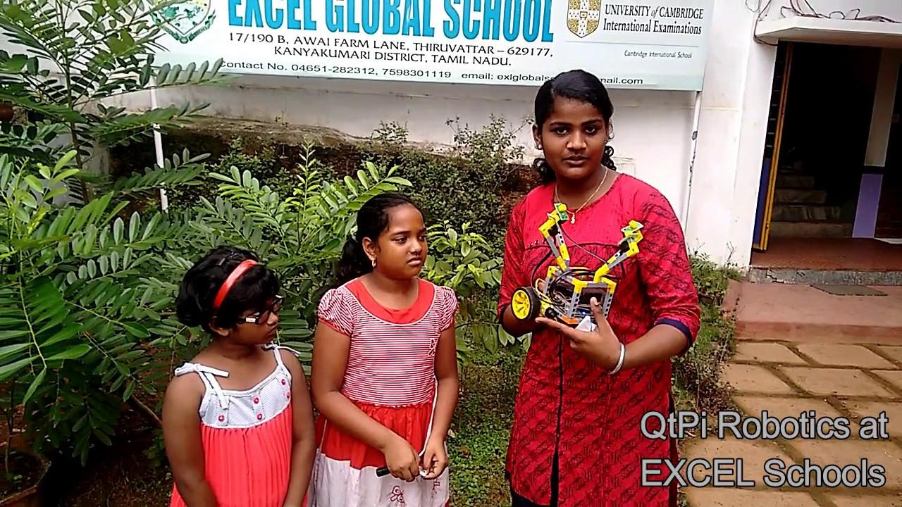 Qtpi Robotics Excel Global School Summer Camp 1 Youtube