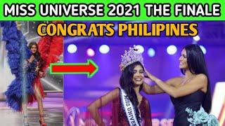 MISS UNIVERSE 2021 THE FINAL TOP3; CONGRATS MISS PHILIPINES RAVIYA MATEO