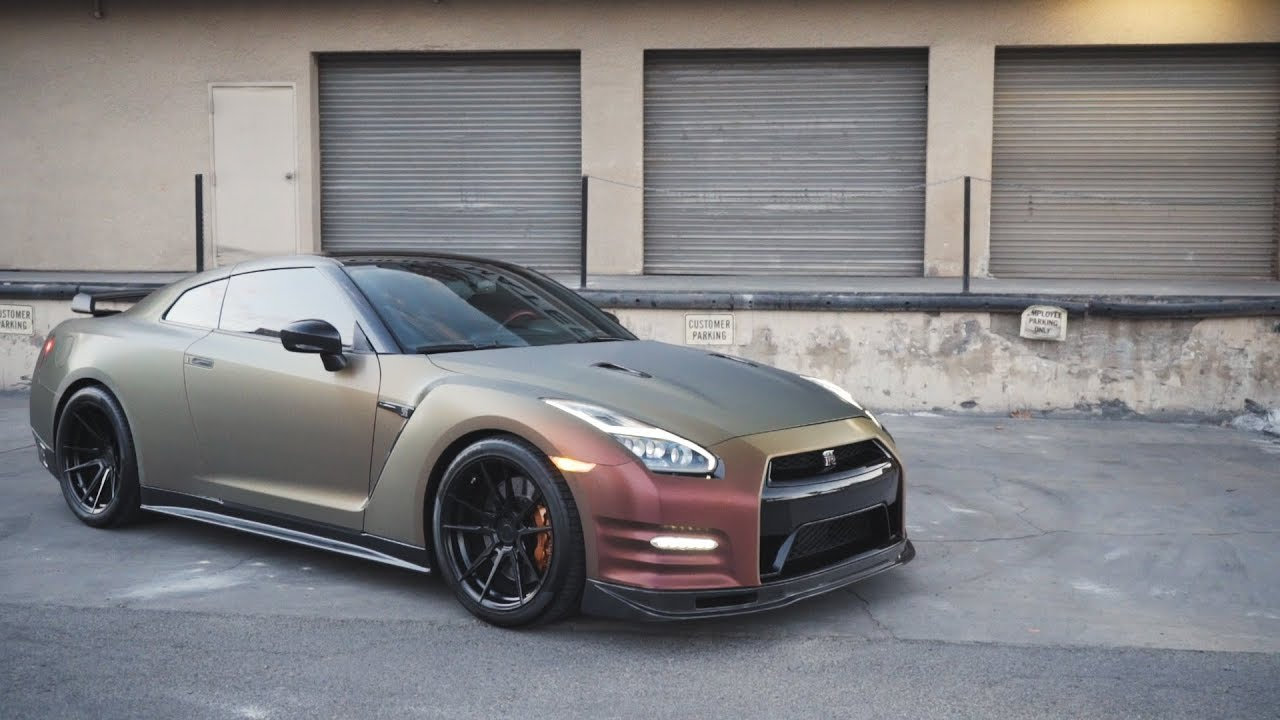 CRAZIEST GTR WRAP EVER! SD WRAP - YouTube