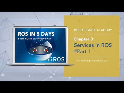 [ROS Tutorials] Chapter 3 1: ROS Services + programming Wam robot-arm  (Python)