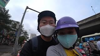 오토바이 타고 베트남 하노이 구경 (Tour Hanoi…