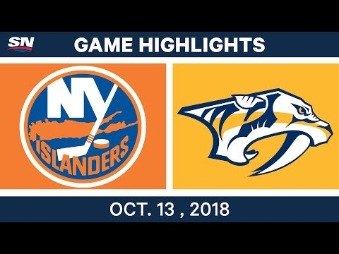 NHL Highlights | Islanders vs. Predators - Oct. 13, 2018